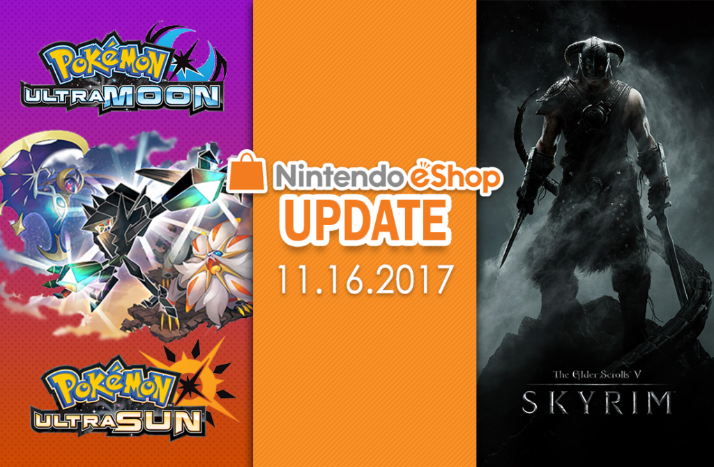 Nintendo eShop Update 11 16 2017 – Skyrim Comes to Nintendo